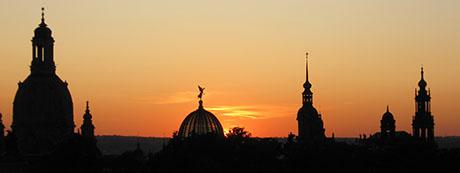 photo of Dresden evening sky
